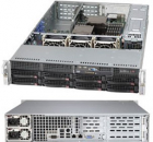 "Серверный корпус Supermicro SuperChassis 2U 825TQC-R740LPB/ no HDD(8)LFF/ no fixed LFF(2)/ 7xLP/ 2x740W Platinum(12"" x 1 .... (CSE-825TQC-R740LPB)"
