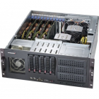 "Корпус Black 4U Chassis w/ 5x SAS3 3.5"" Hotswap HDD, 668W PWS (CSE-842TQC-668B)"