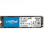Твердотельный накопитель Crucial SSD Disk P2 500GB M.2 2280 NVMe PCIe SSD (CT500P2SSD8)