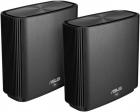 ASUS CT8 (B-2-PK) / / роутер, из 2 точек доступа, 802.11b/ g/ n/ ac/ ax, до 400 + 1733Мбит/ c, 2, 4 + 5 гГц, черный ; 90 .... (CT8 (B-2-PK))