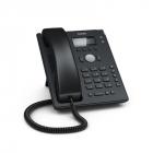 SNOM D120 Настольный IP-телефон. 2 учетные записи SIP, Графический экран с подсветкой, 4 контекстно-зависимые функционал .... (D120+PSU)