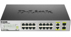 Коммутатор D-Link DES-1018P/ A2A, L2 Unmanaged Switch with 16 10/ 100Base-TX ports and 2 100/ 1000Base-T/ SFP combo-port .... (DES-1018P/ A2A)