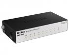 Коммутатор D-Link DGS-1008A/ D2A, L2 Unmanaged Switch with 8 10/ 100/ 1000Base-T ports.8K Mac address, Auto-sensing, 802 .... (DGS-1008A/ D2A)