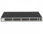 D-Link DGS-1052X/A1A, L2 Unmanaged Switch with 48 10/100/1000Base-T and 4 10GBase-X SFP+ ports. 16K Mac address, Auto-se .... (DGS-1052X/A1A)