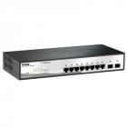 Коммутатор D-Link DGS-1210-10P/ FL1A, L2 Managed Switch with 8 10/ 100/ 1000Base-T ports and 2 1000Base-X SFP ports (8 P .... (DGS-1210-10P/ FL1A)