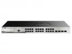 Коммутатор D-Link DGS-1210-28/ME/P/B1A, L2 Managed Switch with 24 10/100/1000Base-T ports and 4 1000Base-X SFP ports.16K .... (DGS-1210-28/ME/P/B1A)
