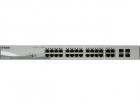 Коммутатор D-Link DGS-1210-28P/ FL1A, L2 Managed Switch with 24 10/ 100/ 1000Base-T ports and 4 100/ 1000Base-T/ SFP com .... (DGS-1210-28P/FL1A)