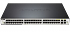 Коммутатор D-Link DGS-3120-48PC/ B1ASI, L3 Managed Switch with 44 10/ 100/ 1000Base-T ports and 4 100/ 1000Base-T/ SFP c .... (DGS-3120-48PC/ B1ASI)