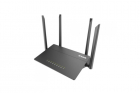 Маршрутизатор D-Link DIR-822/ RU/ R1B, Wireless AC1200 Dual-Band Router with 1 10/ 100Base-TX WAN port and 4 10/ 100Base .... (DIR-822/ RU/ R1B)