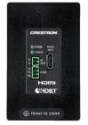 Модуль Wall Plate 4K DigitalMedia 8G+® Receiver & Room Controller 100, Black Textured (DM-RMC-4K-100-C-1G-B-T)