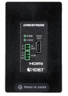 Модуль Wall Plate 4K DigitalMedia 8G+® Receiver & Room Controller 100, Black Textured (DM-RMC-4K-100-C-1G-B-T)