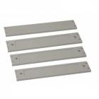 Комплект уголков и панелей для цоколей шкафов 80/ 120, высота 100мм (DP-P-PDN-80/ 120-100-H)