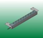 Универсальные кронштейны для крепления вертикальных PDU IP-BA, IP-D или IP-S в шкафы с направляющими L-типа, P-типа и A- .... (DP-RP-VM-12)