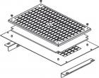 Комплект для монтажа вентиляторного модуля DP-VEN-02, 3 в крышу / днище напольных шкафов глубиной 600 и 800мм (DP-VER-03-H)