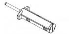 Втулка смотчика риббона в сборе Datamax H-4408 (DPR15-3123-01)