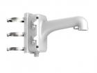 DS-1604ZJ-pole Hikvision Крепление на столб, белое, для скоростных поворотных купольных камер, алюминий, 170.7261.8355.5 .... (DS-1604ZJ-POLE)