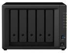 Сетевое хранилище Synology DS1520+ QC2, 0GhzCPU/ 8GbDDR4/ RAID0, 1, 10, 5, 5+spare, 6/ upto 5hot plug HDD SATA(3, 5' or .... (DS1520+)