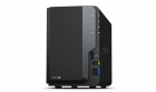 Synology DC 2,0GhzCPU/2GB(upto6)/RAID0,1/up to 2HDDs SATA(3,5' 2,5')/3xUSB3.0/1eSATA/1GigEth/iSCSI/2xIPcam(up to 25)/1xP .... (DS218+)