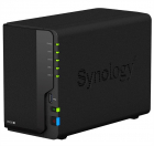 Система хранения данных Synology DC 2, 0GhzCPU/ 2GB(upto6)/ RAID0, 1/ up to 2HDDs SATA(3, 5' 2, 5')/ 2xUSB3.0/ 2GigEth/ .... (DS220+)