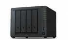 Synology QC1,4GhzCPU/2GB/RAID0,1,10,5,6/up to 4HDDs SATA(3,5' or 2,5')/2xUSB3.0/2GigEth/iSCSI/2xIPcam(up to 30)/1xPS/2YW .... (DS418)