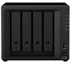 Система хранения данных 'Synology QC2, 0GhzCPU/ 2GB(upto6)/ RAID0, 1, 10, 5, 6/ up to 4HDDs SATA(3, 5' or 2, 5')/ 2xUSB3 .... (DS420+)