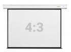 """Экран настенный с электроприводом Digis DSEF-4304, формат 4:3, 120"""" (248x190), MW, Electra-F (DSEF-4304)"""