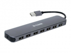 Концентратор usb D-Link DUB-H7/ E1A, 7-port USB 2.0 Hub.7 downstream USB type A (female) ports, 1 upstream USB type A (m .... (DUB-H7/ E1A)