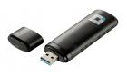 Беспроводной адаптер D-Link DWA-182/ RU/ C1C, Wireless AC1200 Dual-band USB Adapter. 802.11a/ b/ g/ n and 802.11ac (draf .... (DWA-182/ RU/ C1C)