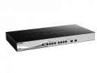 Коммутатор D-Link DXS-1210-10TS/ A2A, 10 Gigabit Ethernet Smart Switch with 8-port 10GBASE-T and 2-port SFP+ 802.3x Flow .... (DXS-1210-10TS/ A2A)