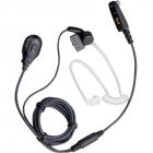 Двухпроводная гарнитура Hytera EAM13 с прозрачным звуководом c встроенным микрофоном на прищепке и кнопкой РТТ, режим VO .... (EAM13)
