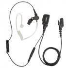 Однопроводная гарнитура Hytera EAN23 скрытого ношения с прозрачным звуководом и ушным вкладышем, встр. микрофоном и PTT (EAN23)
