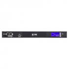 Автоматический переключатель вводов Eaton ATS 16A, вход 2 разъема IEC320 C20, выход 8 розеток C13 и 1 розетка C19, LCD, .... (EATS16)
