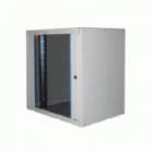 """Шкаф настенный ECOline 19""""9U600x600 дверь стекло, цвет серый Шкаф настенный ECOline 19""""9U600x600 дверь стекло, цвет серы .... (EC09U6060_G_FGF)"""