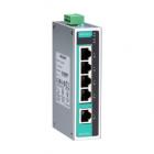 Промышленный 5-портовый неуправляемый коммутатор 10/ 100 BaseT(X) Ethernet, в металлическом корпусе, резервируемое питан .... (EDS-205A-T)