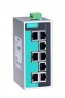 Промышленный 8-портовый неуправляемый коммутатор 10/ 100 BaseTX, в металлическом корпусе, резервируемое питание, -10...+ .... (EDS-208A)