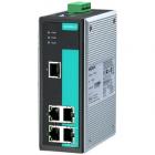 Промышленный 5-портовый неуправляемый коммутатор 10/ 100 BaseTX Ethernet, резервируемое питание, релейный выход, 0...+60 (EDS-305)