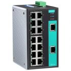 Промышленный 16-портовый неуправляемый коммутатор 10/ 100 BaseT(X) Ethernet (EDS-316)