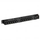 Блок распределения питания Eaton Flex Rack PDU EFLX12I, 1U, 16A, вход IEC320 C20, выход 12 розеток IEC320 С13 и 1 розетк .... (EFLX12I)