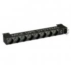 Блок распределения питания Eaton Flex Rack PDU EFLX8D, 1U, 16А, вход IEC320 C20, выход 8 розеток PC/ SHUKO и 1 розетка UE .... (EFLX8D)