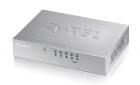 Zyxel ES-105A Пятипортовый коммутатор Fast Ethernet с двумя приоритетными портами (ES-105AV3-EU0101F)