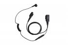 Однопроводная гарнитура Hytera ESN12 c PTT и встроенным микрофоном на прищепке (ESN12)