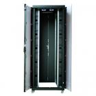 """Шкаф напольный EVOLINE 19""""47U800x800 передняя дверь двустворчатое стекло с металлической рамой слева и справа, задняя две .... (EVL70147U8080BF1R2)"""