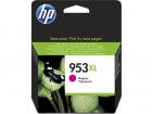 Картридж Cartridge HP 953XL повышенной емкости, для OJP 8710/8720/8730/8210, пурпурный (1600 стр.) (F6U17AE)