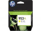 Картридж Cartridge HP 953XL повышенной емкости, для OJP 8710/8720/8730/8210, желтый (1600 стр.) (F6U18AE)