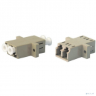 Hyperline FA-P11Z-QLC/ QLC-N/ WH-MG Оптический проходной адаптер LC-LC, MM, quadro, 4 волокна, корпус пластиковый, мадж .... (FA-P11Z-QLC/ QLC-N/ WH-MG)