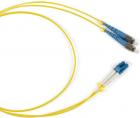 Hyperline FC-D2-9-LC/ UR-SC/ UR-H-25M-LSZH-YL Патч-корд волоконно-оптический (шнур) SM 9/ 125 (OS2), LC/ UPC-SC/ UPC, 2. .... (FC-D2-9-LC/ UR-SC/ UR-H-25M-LSZH-YL)