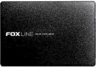 """Твердотельный накопитель Foxline 256GB SSD 2.5"""" 3D TLC, metal case (FLSSD256X5)"""
