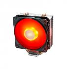 Кулер DEEPCOOL GAMMAXX 400 V2 RED LGA1366/ 115X/ AM4/ AM3/ +/ AM2/ +/ FM2/ +/ FM1 (20шт/ кор, TDP 180Вт, PWM, Red Led Fa .... (GAMMAXX 400 V2 RED)