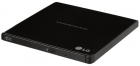 Оптический привод LG DVD-RW ext. Black Slim Ret (GP57EB40.AHLE10B)