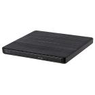 Оптический привод LG DVD-RW ext. Black Slim Ret. USB2.0 (GP60NB60.AUAE12B)